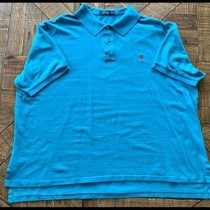 Polo Ralph Lauren pique polo shirt. 3XB.